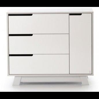 Распродажа Комод (900) (пп) Манхэттен Верес бело-серый