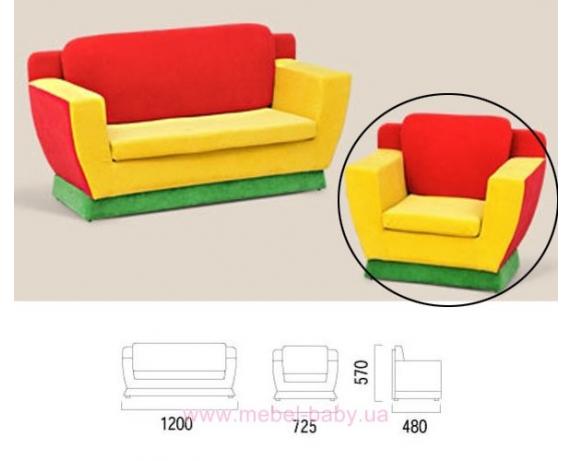 Кресло детское Салли-6 Ливс