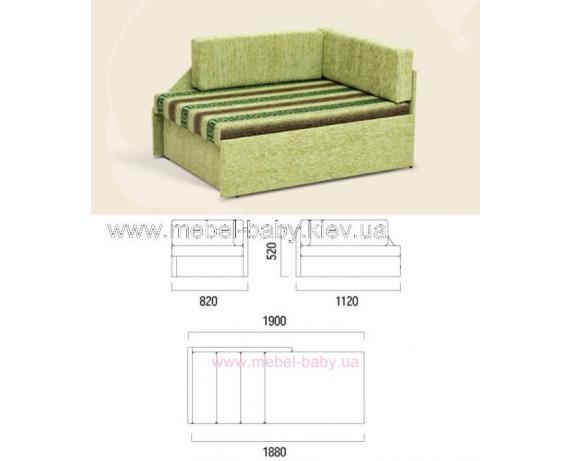 Диван-кровать Кубус Ливс