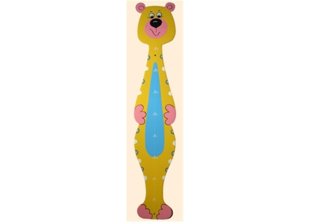 Ростомер Медвежонок желтый