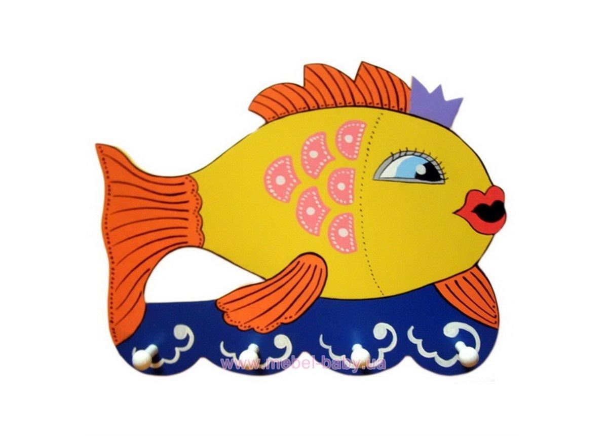 Вешалка Золотая рыбка