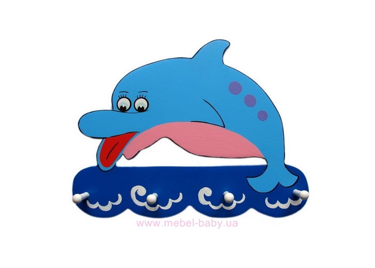 Вешалка Дельфин
