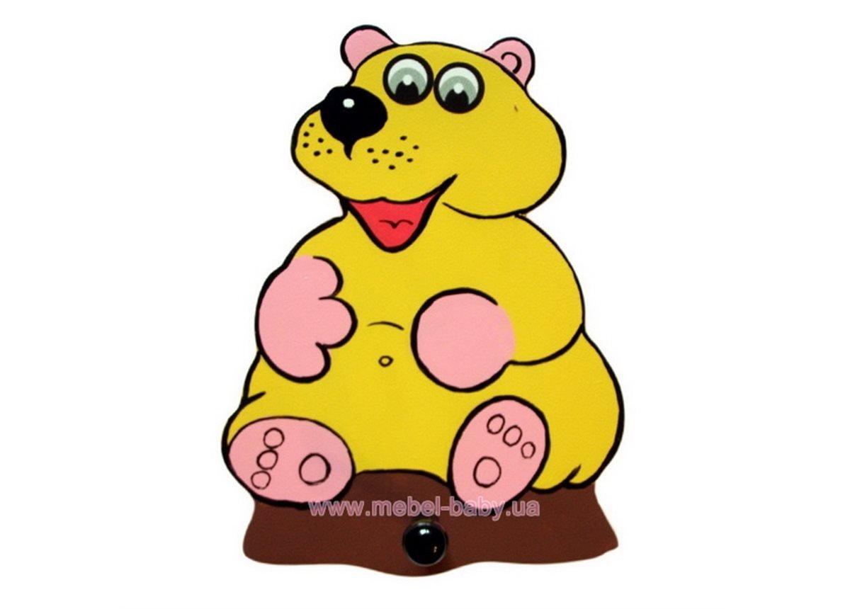 Вешалка Медвежонок
