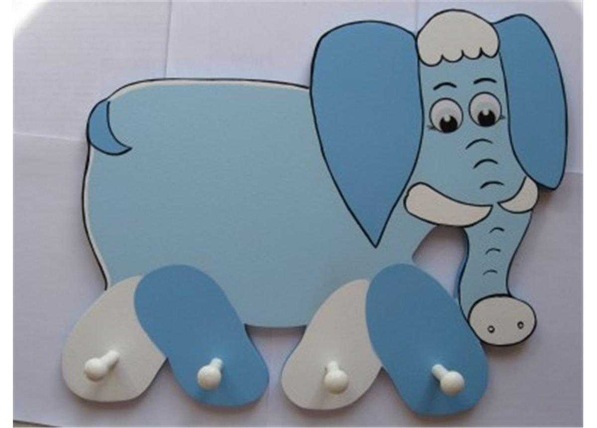 Вешалка Слоник большая