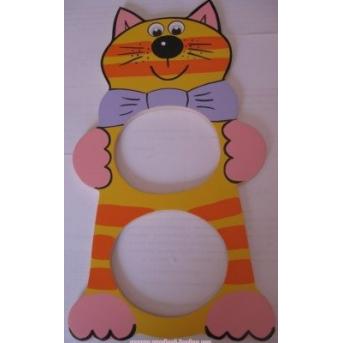 Рамочка для фото Кот высокий
