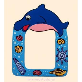 Рамочка для фото Дельфин