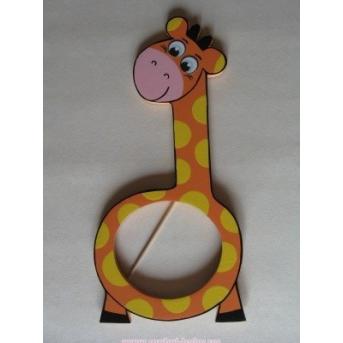 Рамочка для фото Жирафик оранжевый