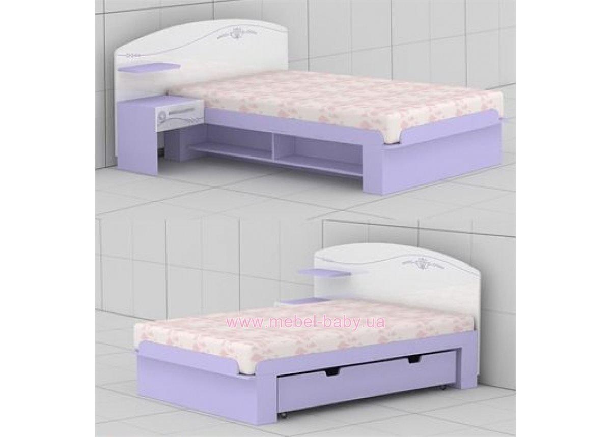 Кровать G-L-21 (1200) Гламур