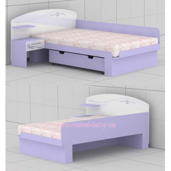 Кровать G-L-23 (1200) Гламур