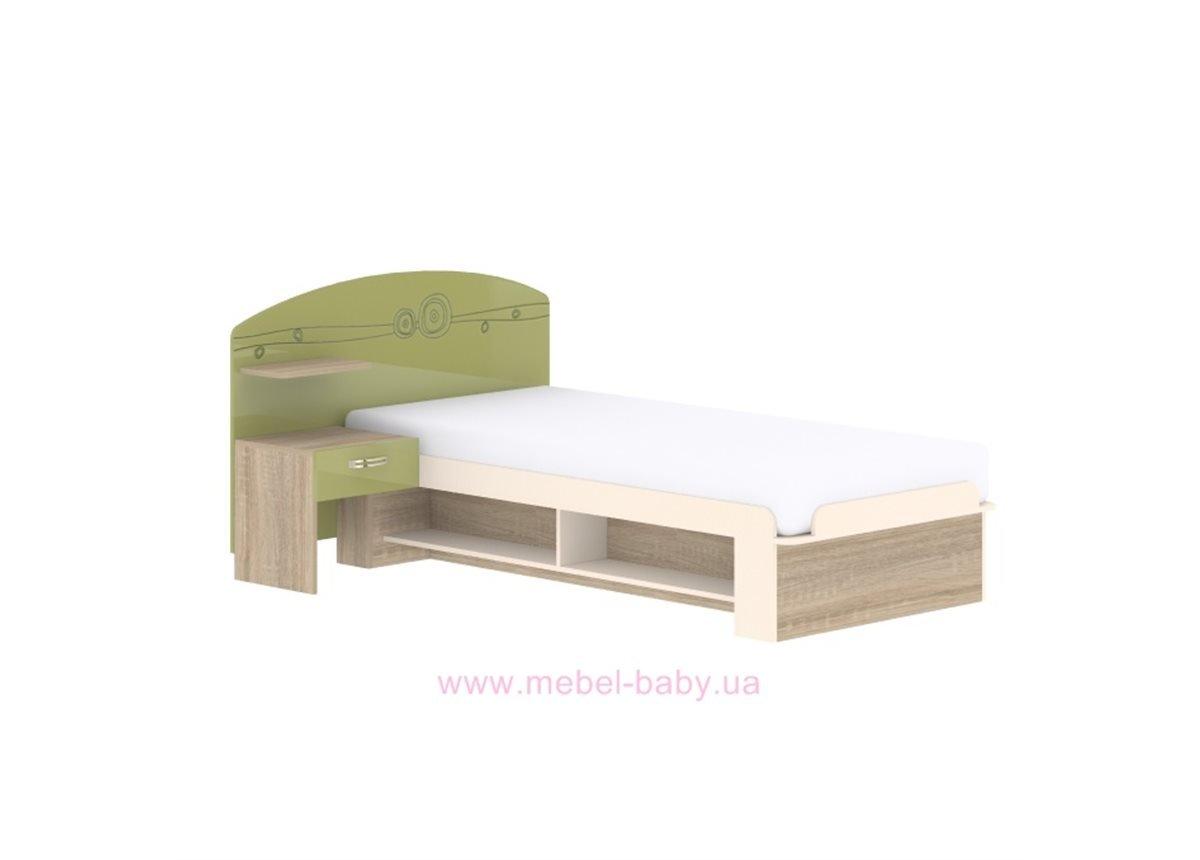 Кровать T-L-20 Edican Троянда оливковая