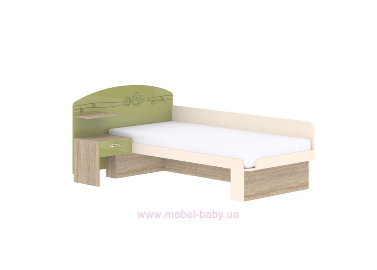 Кровать T-L-22 Edican Троянда оливковая
