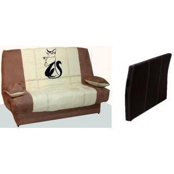 Диван-кровать Joy с принтом и подлокотником Novelty