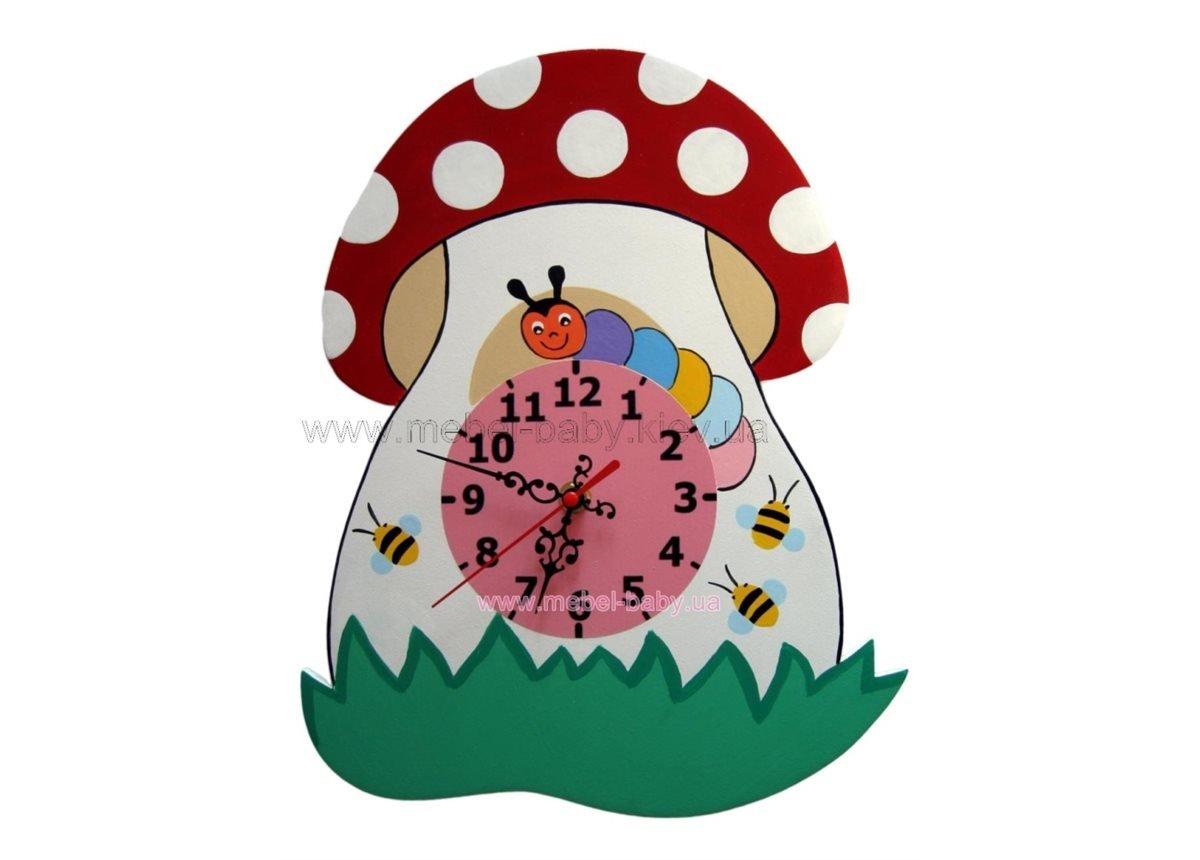 Настенные часы Грибок