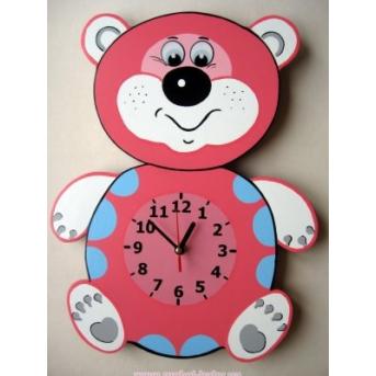 Настенные часы Мишка
