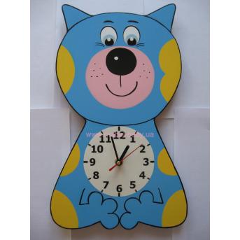 Часы Кот-акробат