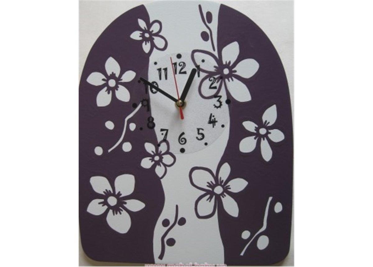 Настенные часы Орхидея