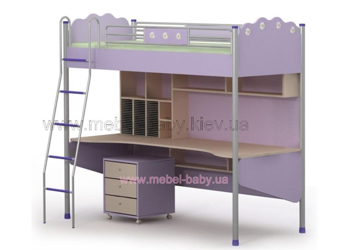 Кровать-стол Si-16-1 Бриз