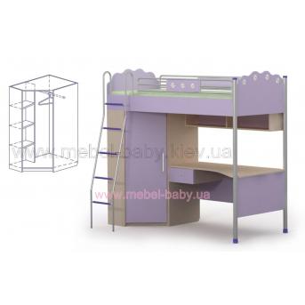 Кровать стол Si-16-2 Бриз