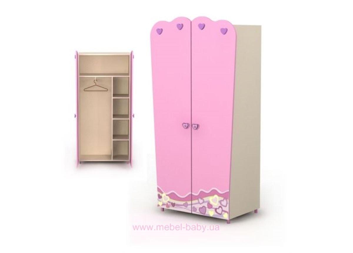Двухдверный шкаф Pn-02-2
