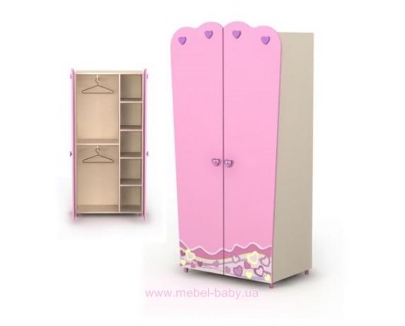 Двухдверный шкаф Pn-02-3