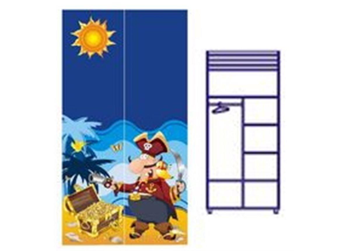 Двухдверный шкаф Od-02-1 (пират)