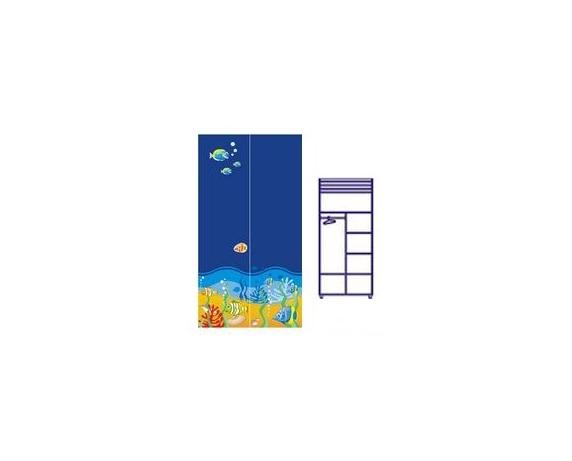 Двухдверный шкаф Od-02-3 (море)