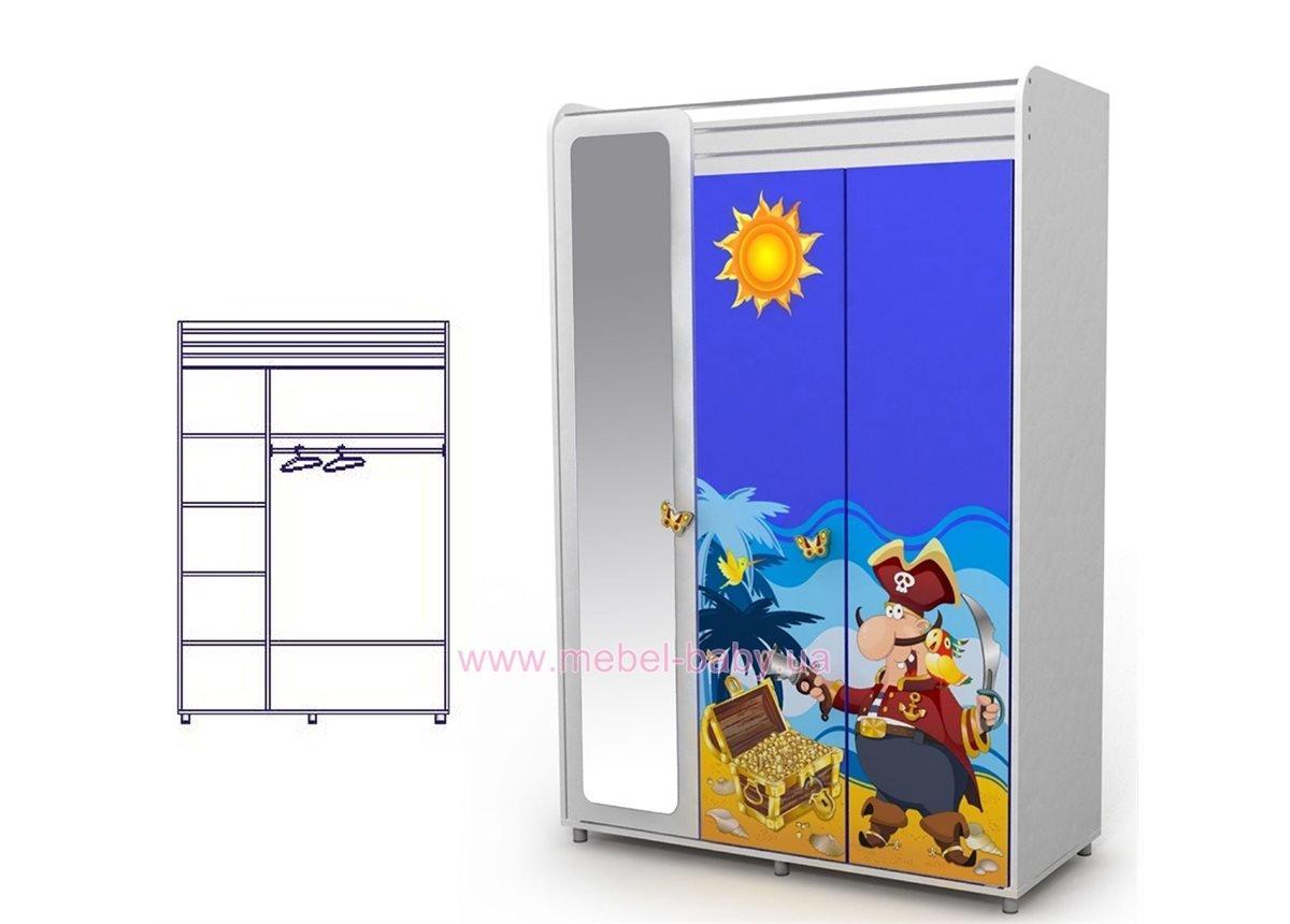 Трехдверный шкаф Od-03-1