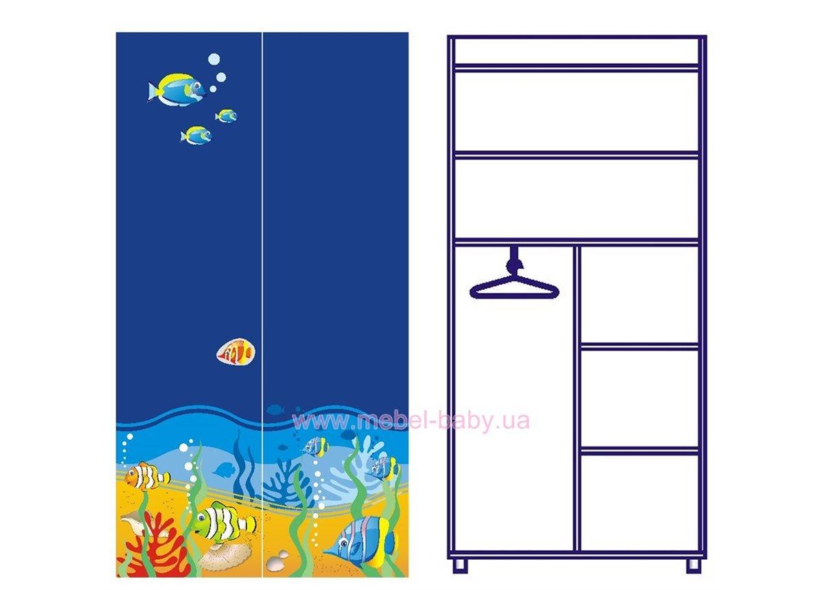 Двухдверный шкаф Od-02-6