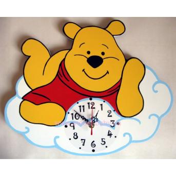 Часы Винни-Пух на тучке
