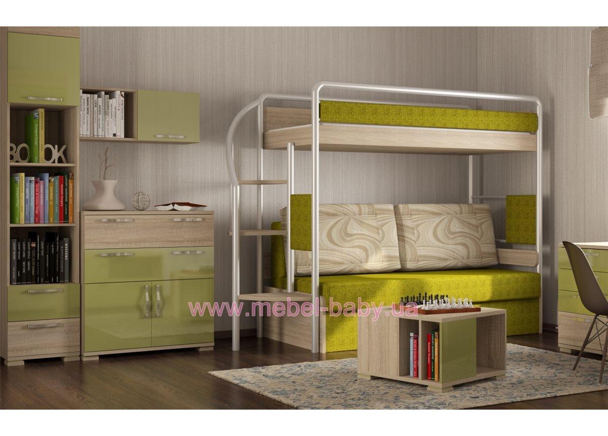 Двухъярусная кровать DJ-L-01 Эдисан 80х190 ЛДСП