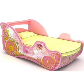 Кровать-карета Cn-11-70mp с ящиком