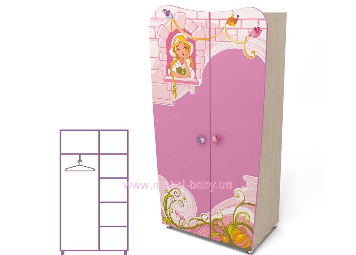 Двухдверный шкаф Cn-02-2