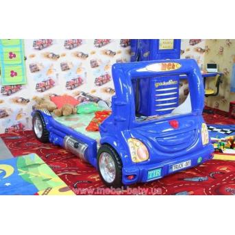 Кровать-машинка с матрасом Грузовик