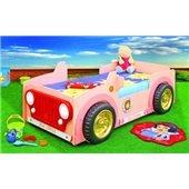 Кровать-машинка с матрасом Jeep Pink