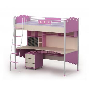 Кровать-стол Pn-16-1 Бриз