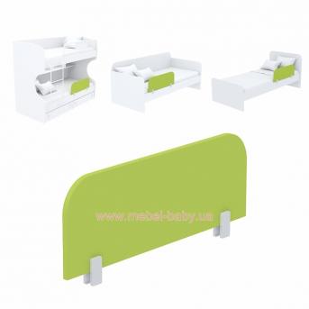 Защитная боковина к кровати кв-20 Акварели Зеленые