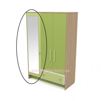 Зеркало к шкафу кв-07-3 Акварели Зеленые