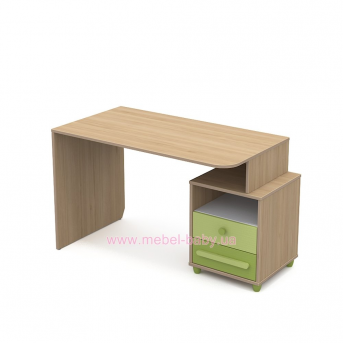 Письменный стол кв-08-1 Акварели Зеленые