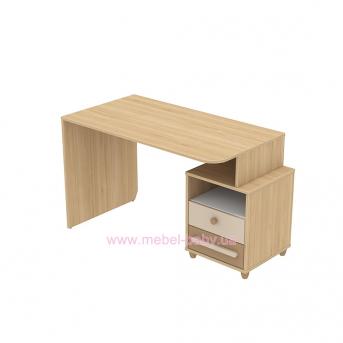 Письменный стол кв-08-1 Акварели Коричневые