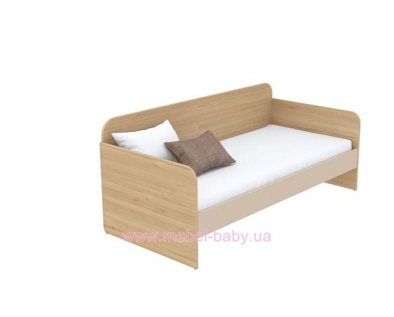 Кровать-диван (матрас 900*1900) кв-11-5 Акварели Коричневые