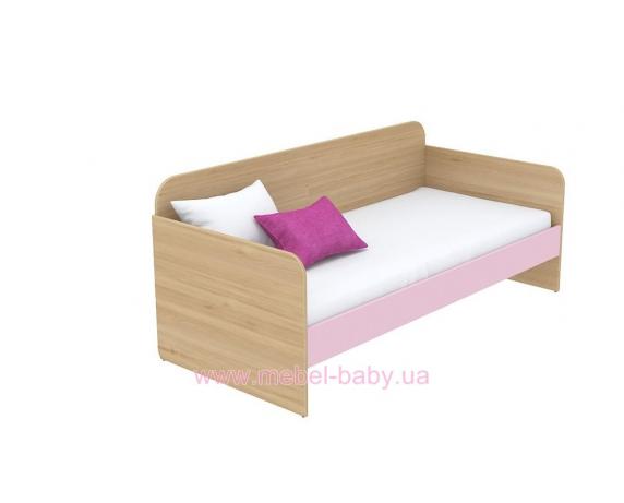 Кровать-диван (матрас 900*2000) кв-11-3 Акварели Розовые