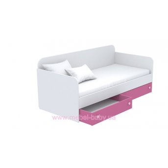 Выдвижной ящик для кровати-дивана маленький кв-15-4 Акварели Розовые