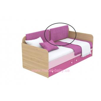 Мягкая накладка для кровати-дивана кв-11-4n Акварели Розовые