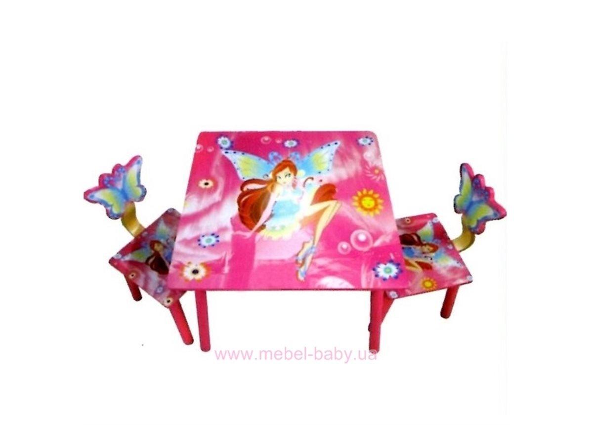 Столик Bambi D 11551 с двумя стульчиками WinX Ukr-torg