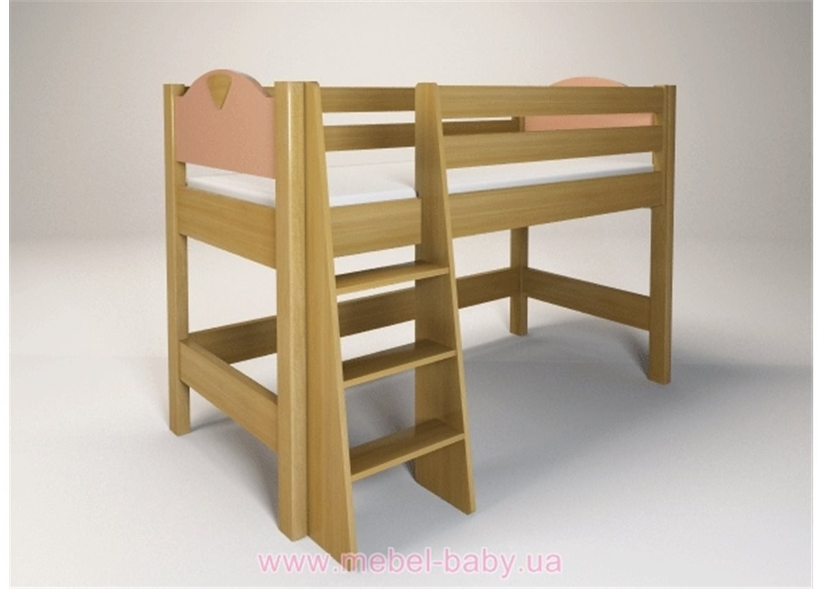 Кровать ярусная с лестницей 200х90 Эльф Енран