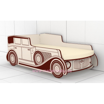 Кровать-машинка КМ-380-1 Paris