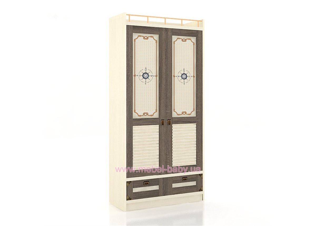 Калипсо ЛД.509010.000 Шкаф  двухдверный