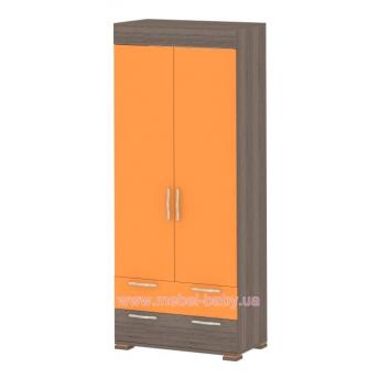 Шкаф К-SH-01 Edican Колледж оранжевый