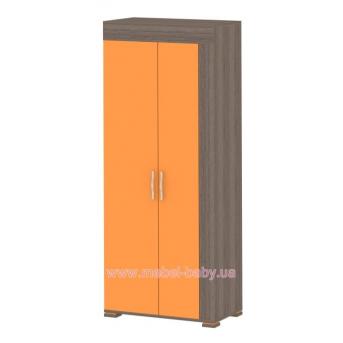 Шкаф К-SH-02 Edican Колледж оранжевый