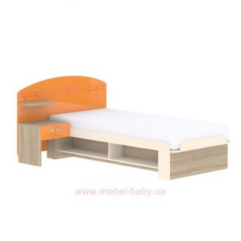 Кровать T-L-20 Edican Троянда оранжевая